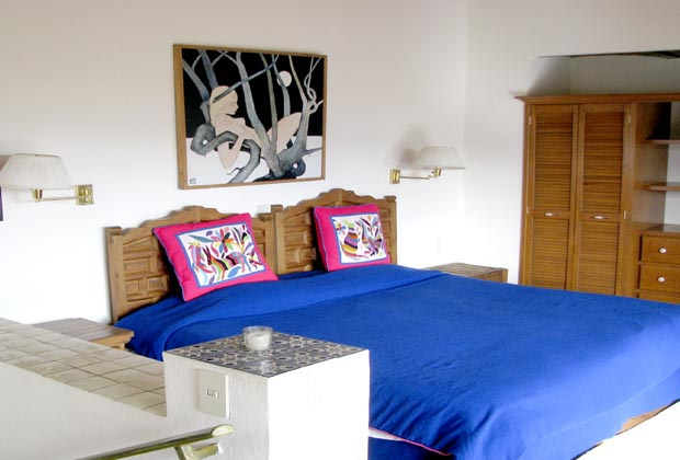Aerie Bedroom, Los Dos B&B, Joco