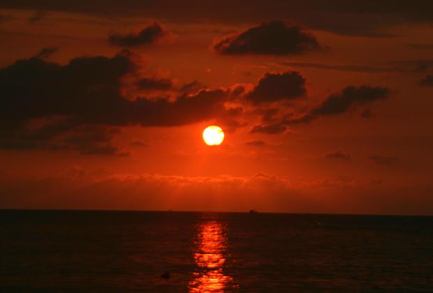 Chacala Beach Sunset Riviera Nayarit