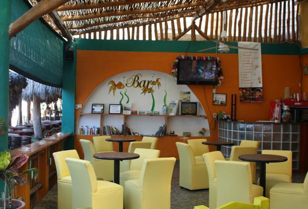 Hotel Las Brisas Chacala Riviera Bar on the Ocean