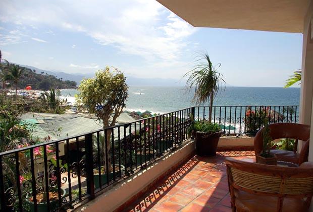 La Palapa Puerto Vallarta Condo Balcony