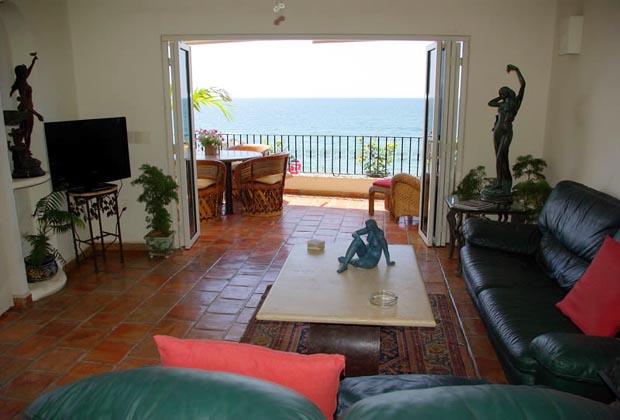 La Palapa Puerto Vallarta Condo Living Room 2