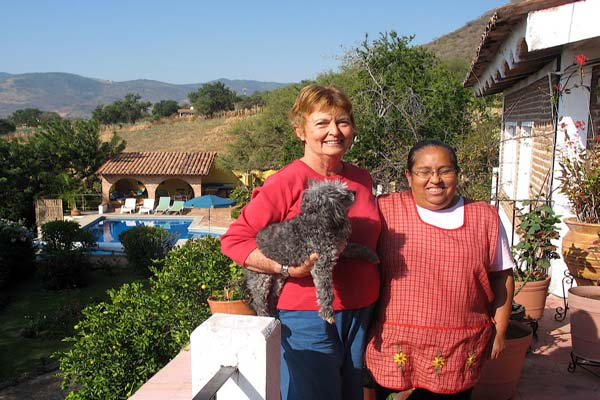 Phyllis Rauch  and Mary, Los Dos B&B