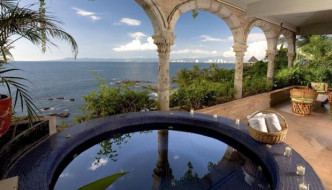 @Casa Tres Vidas PuertoVallarta Outdoor Jacuzzi Under the Sky