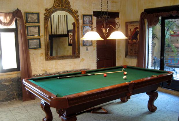 Adobe Walls B&B Ajijic Mexico Lake Chapala Billiards Pool Table