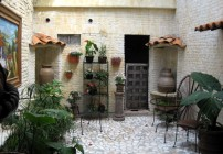 Adobe Walls B&B Ajijic Mexico Lake Chapala Outdoor Patio