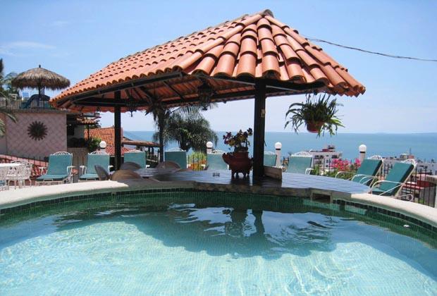 Casa Anita Zona Romantica Puerto  Vallarta Pool