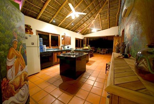 Casa Manana Bucerias Interior out to terrace Casa VII (Custom)