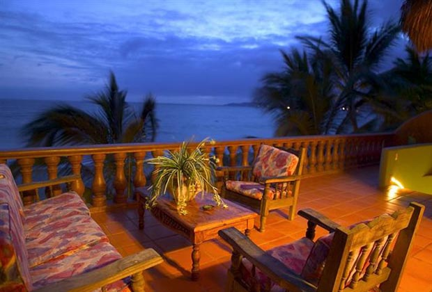 Casa Manana Bucerias Riviera Nayarit VII terrace (Custom)