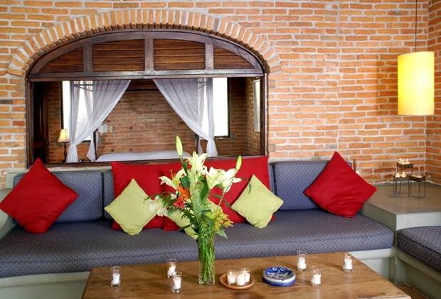 Casa Tres Vidas Vallarta Comfortable Villa Living room
