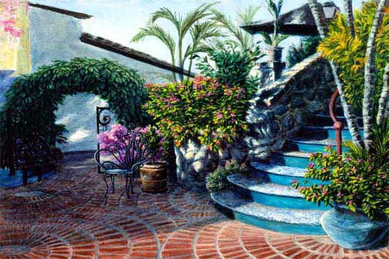 Casa de Los Artistas Boca de Tomatlan Art Workshops