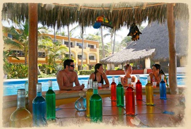 Costa Azul San Poncho Riviera Nayarit Beach Palapa Bar