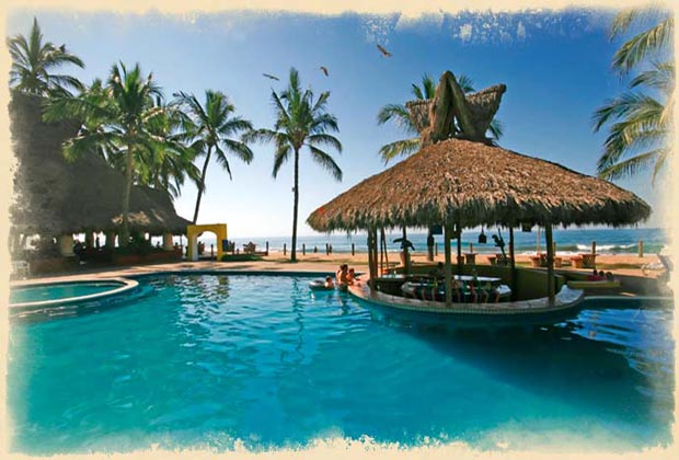 Costa Azul San Poncho Riviera Nayarit Pool Bar