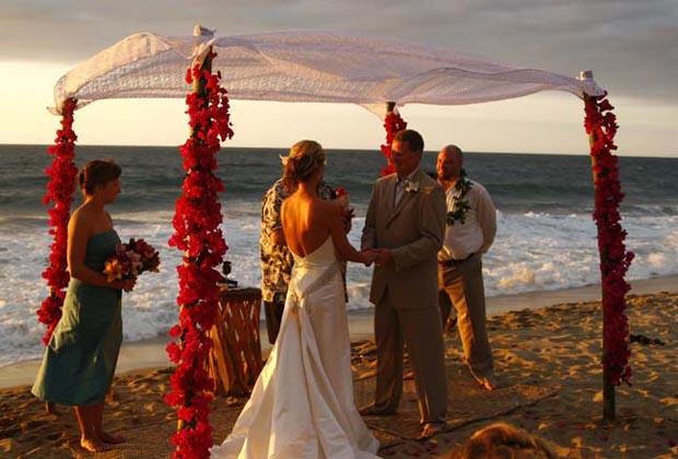 Costa Azul San Poncho Riviera Nayarit Romantic Wedding Vows Mexico Beach