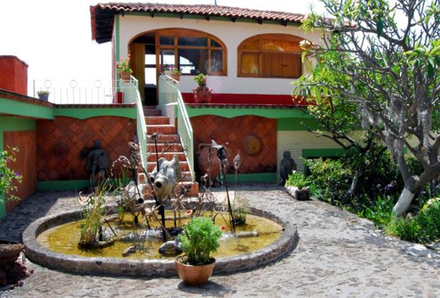 Hotel Balneario & Villa Spa Bordeaux San Juan Cosala Balcony Lake Chapala View