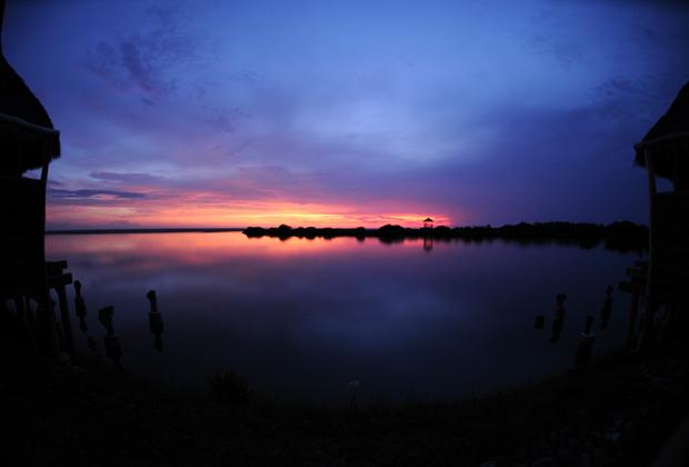Hotel Desconocido Costa Alegre Luxury Pacific Ocean and Lagoon sunset