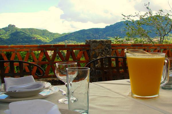 La Villa Bonita Tepoztlan Morelos Mexico Fresh Guayaba Guava Juice
