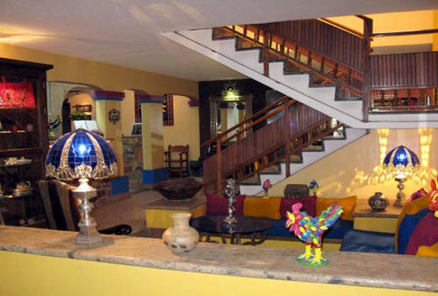 Quinta Don Jose Tlaquepaque Guadalajara Mexico Main Lobby