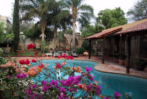 Quinta Don Jose Tlaquepaque Guadalajara Mexico Pool Deck & Gardens