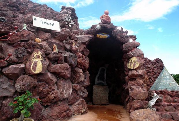 San Juan Cosala - Temescal Pre-hispanic water therapy