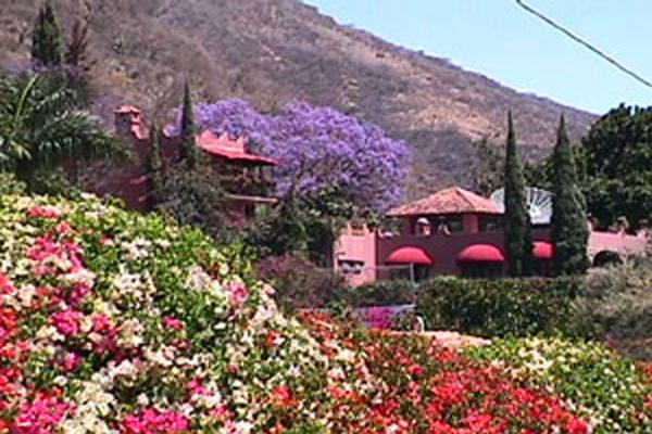 Villa Angel Ajijic B&B Tropical Garden View