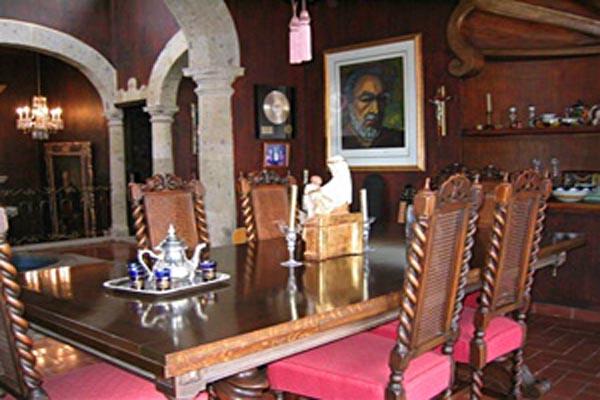Villa Angel Ajijic Dining Room Colonial Mexico