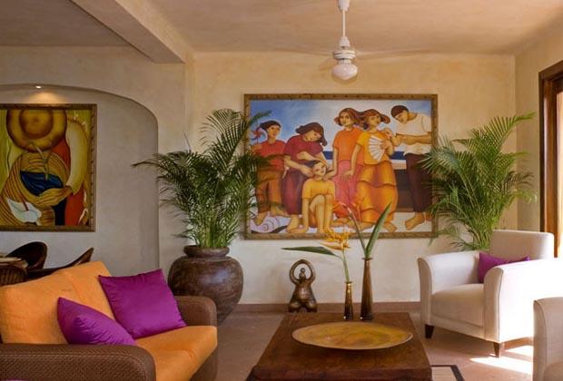 Villa Encantada Conchas Chinas Puerto Vallarta Living Room