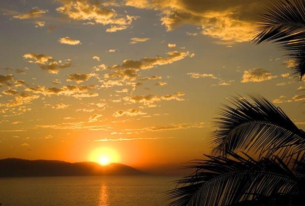 Villa Encantada Conchas Chinas Puerto Vallarta Sunset