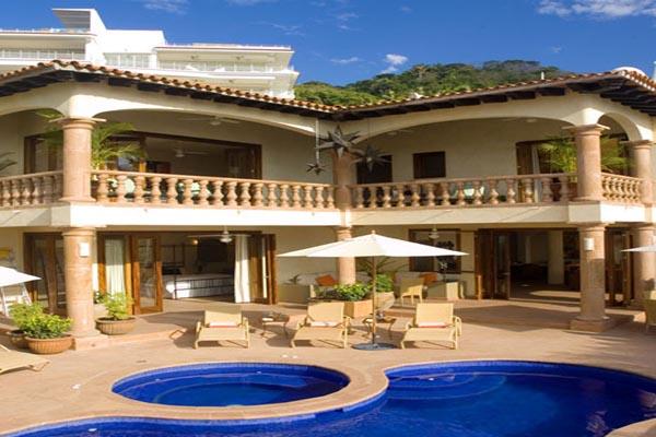 Villa Encantada Conchas Chinas Puerto Vallarta outdoor pool