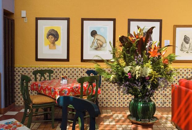 Casa De Las Flores B&B Tlaquepaque Mexico - Comedor
