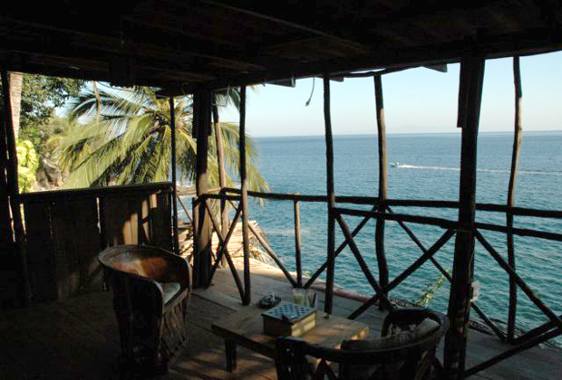 Casa Santa Cruz Luna Bungalows Yelapa mexico ocean view balcony