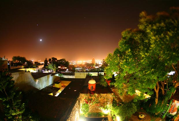 Casa Schuck CIELO Room San Miguel de Allende Romantic Rooftop View