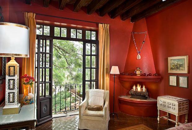 Casa  Schuck Jacaranda Room Colonial Garden Fountain Courtyard