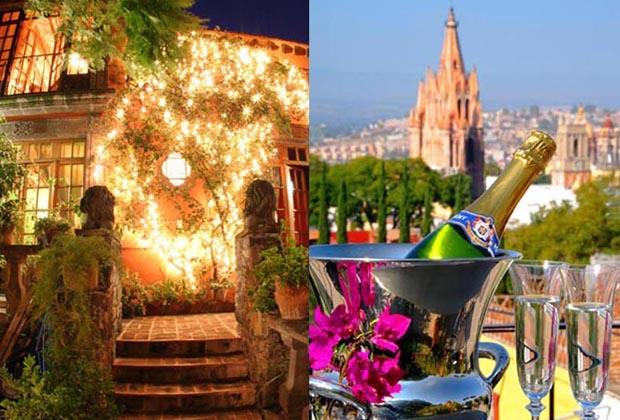 Casa Schuck Romantic Wedding San Miguel del Allende Champagne