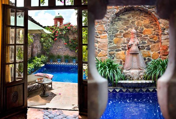 Casa Schuck San Miguel de Allende Colonial Architecture