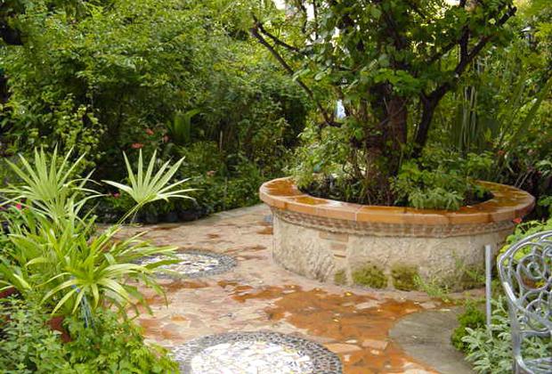 Casa de Las Flores B&B Tlaquepaque Guadalajara Exotic Tropical Garden