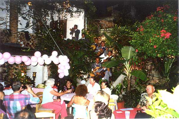 Chez Elena Puerto Vallarta Restaurant at Los Cuatro Vientos Hotel Fiestas & Events