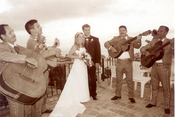 Chez Elena Puerto Vallarta Restaurant at Los Cuatro Vientos Hotel Wedding Reception