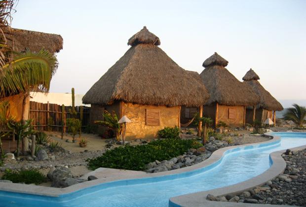 CocoCabañas 22 k beach Barra de Navidad Mexico Private Retreat
