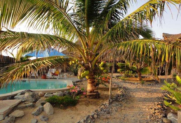 CocoCabañas Beachside Bungalows Barra de Navidad Mexico eco holiday