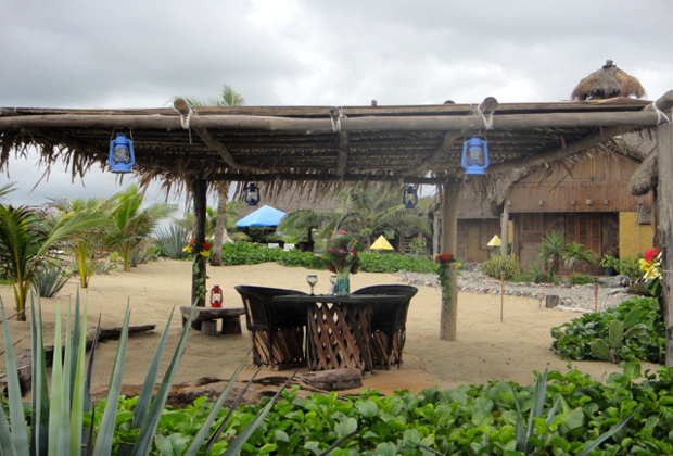 CocoCabañas Beachside Bungalows Barra de Navidad Mexico pineapple plantation