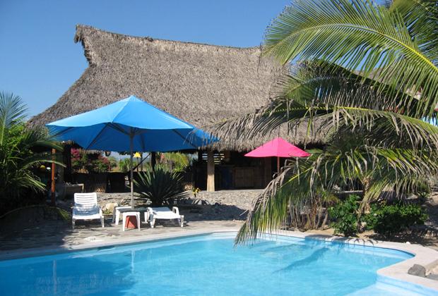 CocoCabañas Beachside Bungalows Barra de Navidad Mexico solar