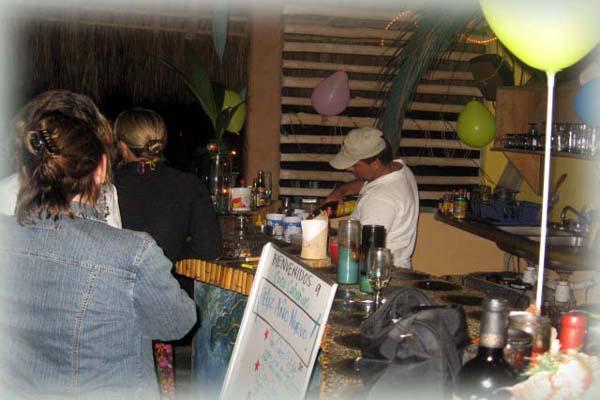 CocoCabañas Beachside Inn Pablito's Tropical Cocktails Barra de Navidad