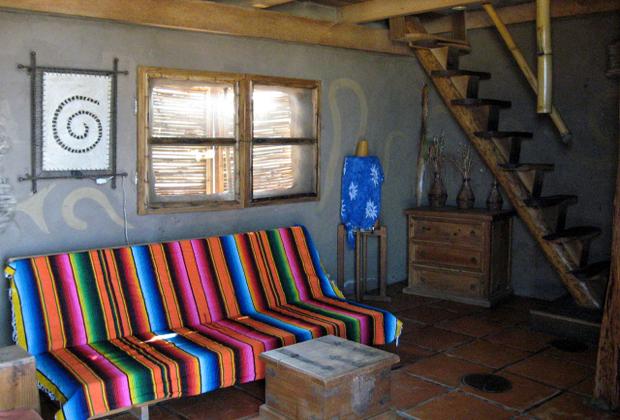 CocoCabañas Luxury Hotel Barra de Navidad Mexico Loft Bedroom