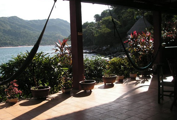 El Jardin Eco Hotel B&B Yelapa Mexico Sierra Madre Bay of Banderas