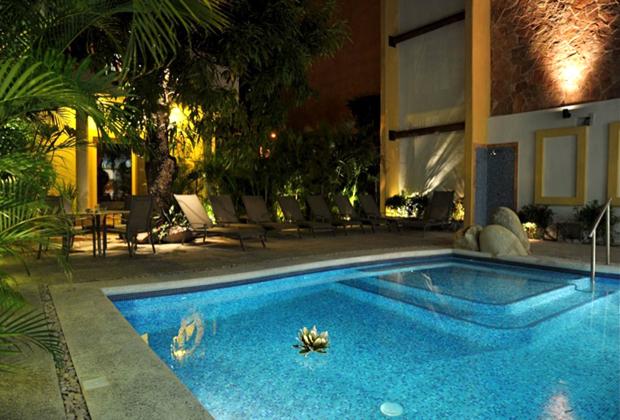 Hacienda Alemana Adult Business Hotel Renovations Outdoor Pool