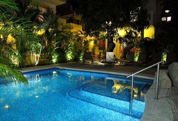 Hacienda Alemana Romantic Adult Hotel PV Remodelled Pool