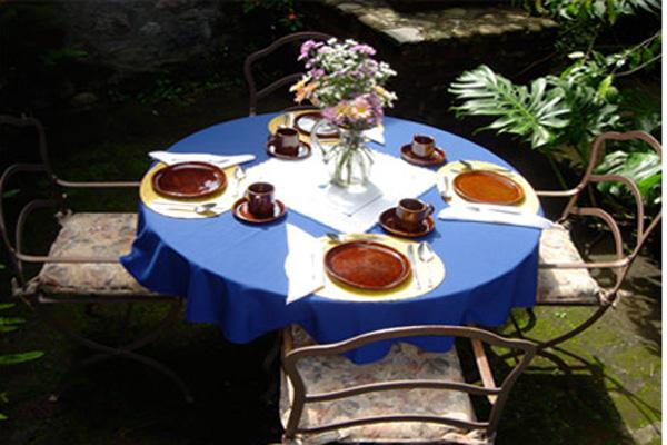 Hotel La Casona Temazcal, Temascaltepec-Valle deBravo, Mexico State El Jardin Dining