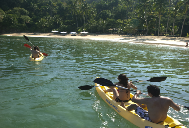 Majahuitas Eco Resort Kayaking Snorkeling Beach Vacation Mexico