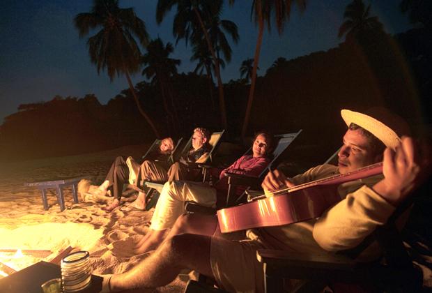 Majahuitas Eco Resort Secluded Beach Wedding Miriachi Music Fireworks