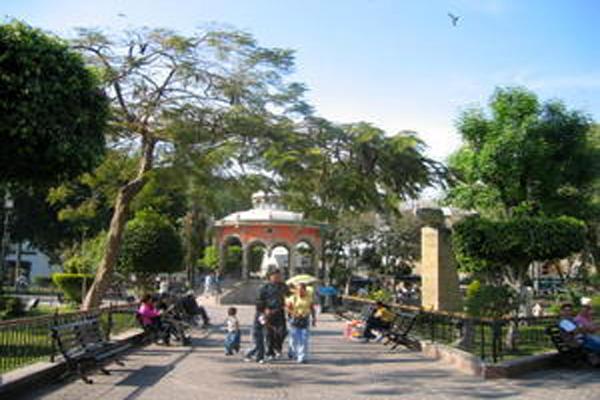 Tlaquepaque Mexico Town Square near Guadalajara